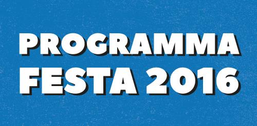 Programma Festa Radio Onda d'Urto 2016