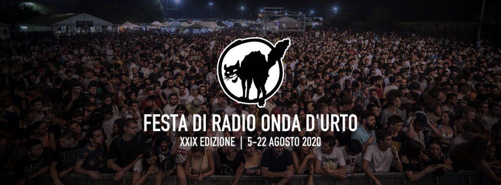 festa di radio onda d'urto 2020 5-22 agosto brescia