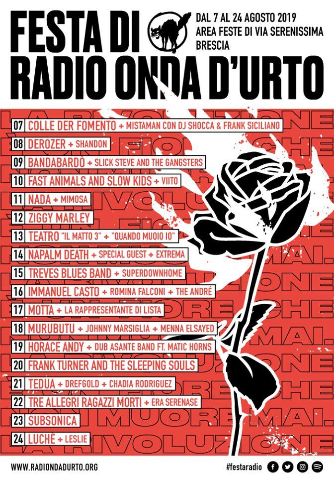 festa radio onda d'urto 2019