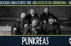 Giovedì 23 agosto 2018: Punkreas + Gli Inutili.
