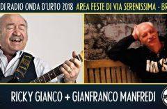 Domenica 12 agosto 2018: Ricky Gianco + Gianfranco Manfredi.