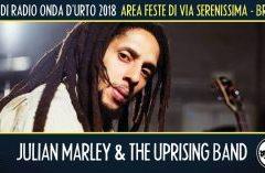 Giovedì 9 agosto 2018: Julian Marley.